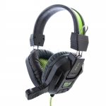 Headset 'MD-Tech' MD-820 (Black/Green)