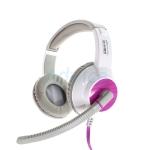 HeadSet 'Magic Tech' MT-G1 (White/Purple)