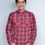 เสื้อเชิ้ตลายสก๊อตสีแดง สไตล์ UK เนื้อผ้าดี ผ้าพรีเมียม thumbnail 1