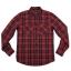 เสื้อเชิ้ตลายสก๊อตสีแดง สไตล์ UK เนื้อผ้าดี ผ้าพรีเมียม thumbnail 4